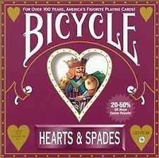 Bicycle Hearts & Spades Expert Software CD-ROM