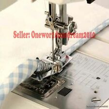 New Snap-on Bias Tape Binder Metal Foot For Brother Singer Janome Sewing Machine