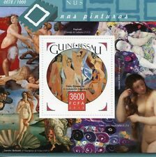 Guinea-Bissau 2015 MNH Paintings of Nudes 1v S/S Pablo Picasso Art Stamps