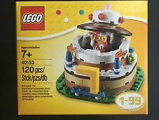 LEGO New In Box 40153 Seasonal Set Birthday Cake Table Decoration Cake Topper