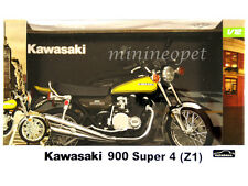 AUTOMAXX 606001 KAWASAKI 900 SUPER 4 (Z1) MOTORCYCLE 1/12 BLACK / YELLOW