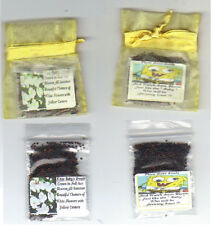 BABY SHOWER FAVORS 25 YELLOW *SPONGE BOB THEME  with  BABY'S BREATH SEEDS + POEM