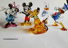 Swarovski Crystal, Disney Series, Mickey, Minnie, Donald, Daisy, and Pluto,
