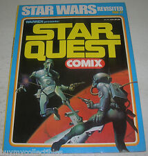 STAR QUEST COMIX #1 (Warren 1978) STAR WARS REVISITED (FN/VF) Ken Kelly cover