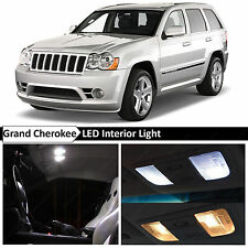 12x White Interior LED Lights Package for 2005-2010 Jeep Grand Cherokee