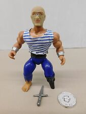 Remco Pirates Of The Galaxseas PEGLEG WITH COIN - KO He-Man/Conan -Sized Figure
