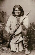 Geronimo, Apache Indian Leader Native American, Fought Mexico & Texas - Postcard