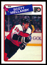 1988 89 OPC O PEE CHEE 21 SCOTT MELLANBY NM RC PHILADELPHIA FLYERS ROOKIE HOCKEY