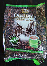 Old Town  White Coffee 3 in 1 Mix Flavors IPOH, MALAYSIA 4 bags of 15 = 60 packs