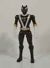 "2008 Black Wolf Ranger Dillon 5"" Action Figure Power Rangers RPM Full Throttle"