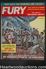 Fury Oct 1961 Suzanne Blaine, Ted Sturgeon, Bobby Kennedy, Santa Maria - Ultra H