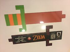 (1) The Legend Of Zelda (Ocarina/Skyward) - Rare Promo Hyrule Historia Bookmark