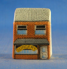 Birchcroft Miniature House Shaped Thimble -- Doctors Surgery