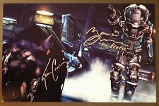 KEVIN CONROY +1 Authentic Hand-Signed BATMAN:Arkham City 11x17 Photo