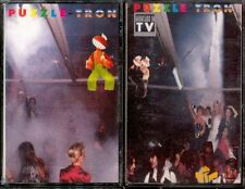 PUZZLETRON - 2 x SPAIN CASSETTE Boy 1993 - Puzzle Tron - Imagine Lennon Beatles