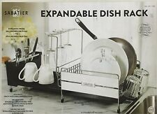 Sabatier Stainless Steel Expandable Dish Rack