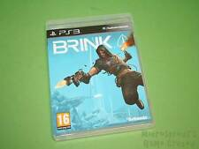 Brink Sony Playstation 3 PS3 Juego-Bethesda Softworks