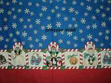 NEW Handmade Daisy Kingdom Penguins/Candy Cane Christmas Border Dress 12M-14Yrs