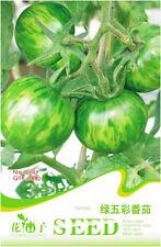 20 Original Pack Seeds Green Stripe Tomato Seeds Tomatoes Organic Vegetable C089