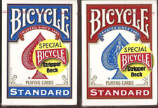 Bicycle Stripper playing cards deck BLUE Brand New Sealed