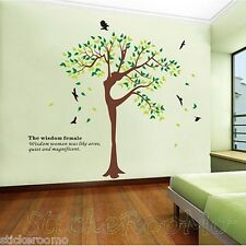 HUGE TREE REMOVABLE NEW MURAL ROOM WALL ART STICKERS VINYL DECALS HOME DIY DECOR