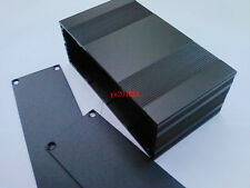 Black new Aluminum Project Enclosure Box Electronic case DIY_80x145x54mm(L*W*H)