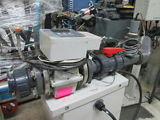Hersey B.E.P. Size 2 120V 1Ph 230 Fluid Max Temp Magnetic Flowmeter Great Cond!
