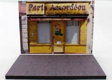 Diorama présentoir Boutique Paris Accordéon - 1/43ème - #MR43A075