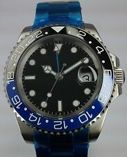 Parnis submariner Power Reserve Mens Automático GMT Reloj OROLOGIO MONTRE WATCH
