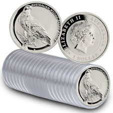 2017-P Australia $1 1 oz Silver Wedge Tailed Eagle - Roll of 20 In Caps SKU44911