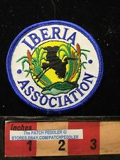 IBERIA ASSOCIATION LOUISIANA PELICAN JACKET PATCH C63G