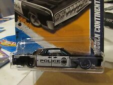 Hot Wheels '64 Lincoln Continental HW Main Street Black Police