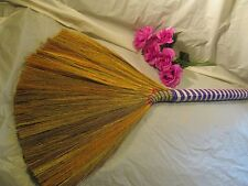 Jumping Broom for Your Wedding - Undecorated - FREE SHELLS  P/WH