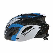 RockBros Men Road Bike Bicycle Cycling Helmet Size M/L Adjust 57-62cm Blue Black