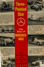 THREE POINTED STAR,THE STORY OF MERCEDEZ BENZ 1956,BOOK,NORTON SCOTT MONCRIEFF