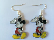 FUNKY MICKEY  MOUSE EARRINGS DISNEY JEWELRY CUTE  BIRTHDAY GIFT