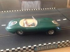scalextric jouef by playcraft jaguar e type made in france 1960's.