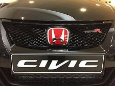 GENUINE HONDA CIVIC TYPE R FRONT GRILLE AND BADGES 2015-2016