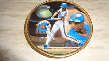 1989 Sports Impressions Baseball Mini Plate - Darryl Strawberry - New York Mets