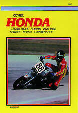 Honda CB750 DOHC Fours, 1979-82: Clymer Workshop Manual by E. Scott...