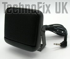 Compact square extension speaker 3.5mm jack plug with bracket loudspeaker