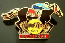 HRC Hard Rock Cafe Baltimore Horse Race Logo 1998