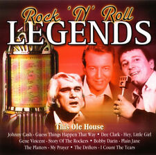 ROCK 'N' ROLL LEGENDS: THIS OLE HOUSE - CD (2004) 16 TRACKS:  JOHNNY CASH ETC