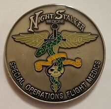 160th SOAR (A) Tier 1 SOF Night Stalkers Medicine Special Ops Flight Medics 1.75