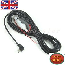 3Meter DC 12V-24V to 5V 3A Right Angled 90 Degree Mini USB Power Converter Cable
