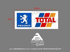 Peugeot Total Window Sticker Decal