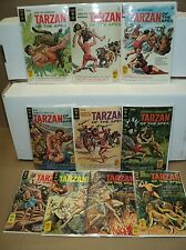 Tarzan 181-190 SET Solid! Of the Apes 1968-1970 Gold Key Comics (set# 5509)