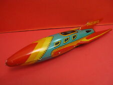 ALL ORIGINAL MASUDAYA SPACE SHIP X-5 ROCKET FRICTION SPACE TOY ROBOT 1950