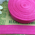 5 Yards 1Inch (25mm)  Width Length Nylon Webbing Strapping Pick Rose MG08