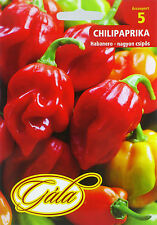 Habanero pepper seeds. Extremely hot! approx. 30 seeds